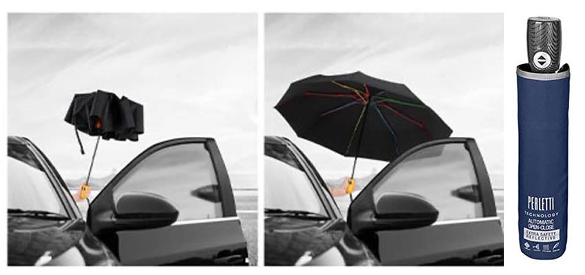 ombrello pieghevole automatico