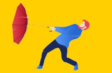ombrello pieghevole antivento